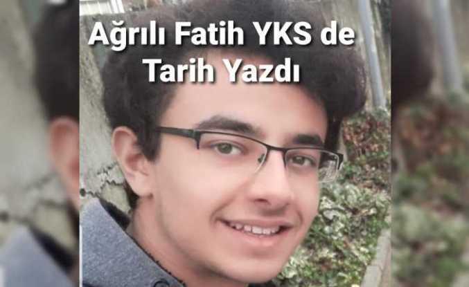 Ağrılı Öğrenci YKS de Türkiye Derecesi Yaptı
