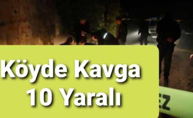 Ağrı da Köylüler Kavga Etti 10 Yaralı