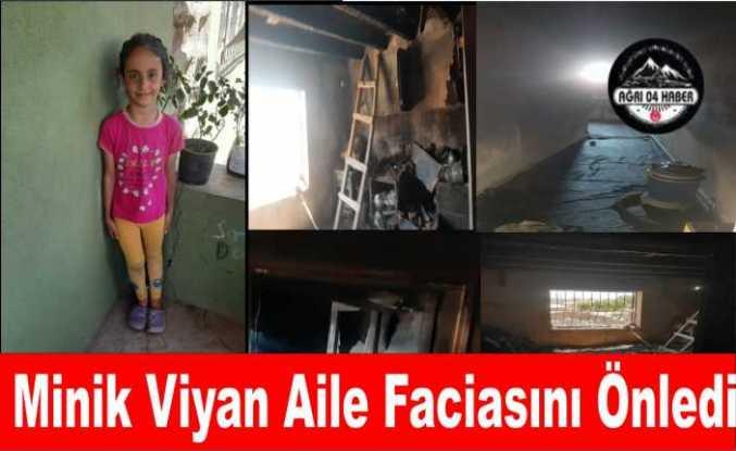 Minik Viyan 7 Kişilik Ailesi'nin Hayatını Kurtardı
