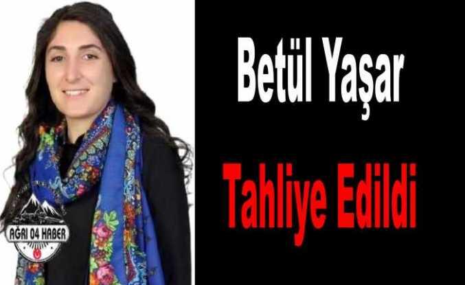 Belediye Başkanı Betül Yaşar Tahliye Edildi