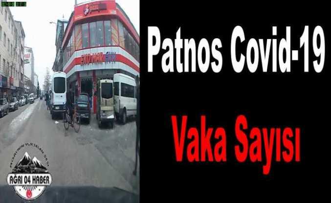 Patnos'ta Covid-19 Vaka Sayıları
