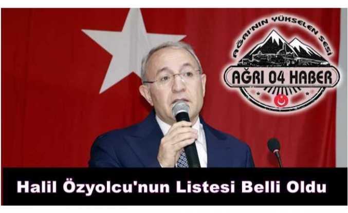 Halil Özyolcu'nun Listesi Sızdı ''işte O İsimler''