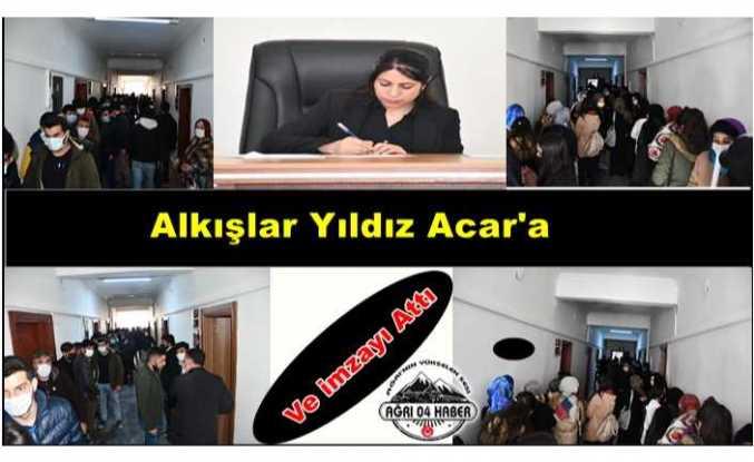 Doğubayazıt Belediye Başkanı Acar  Ağrı'da Bir İlke İmza Attı