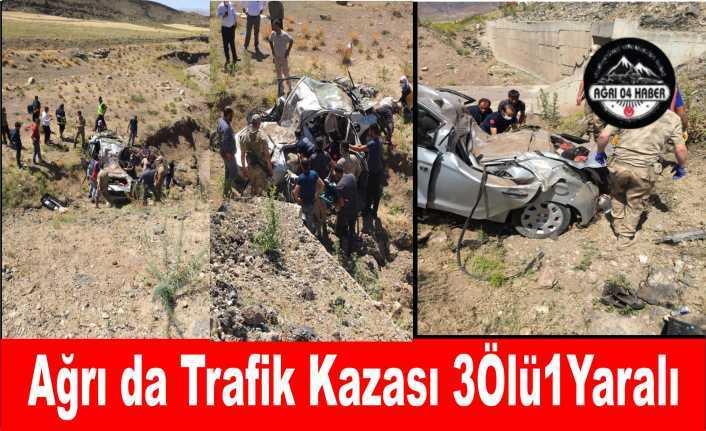 Ağrı da Trafik Faciası 3 Ölü