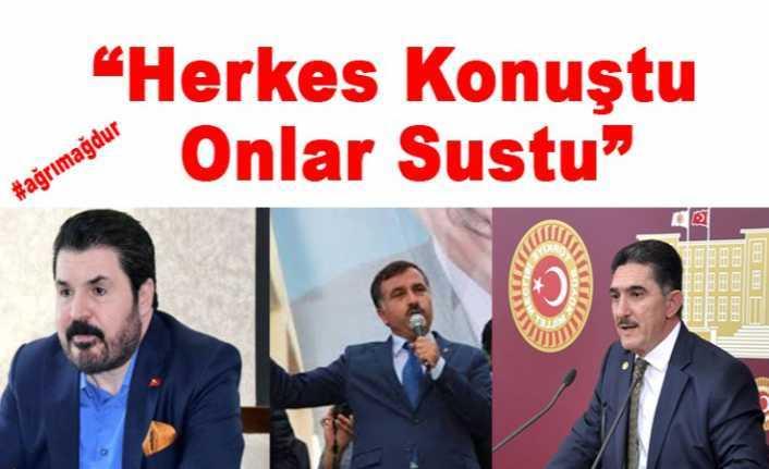Ağrı Konuştu Onlar Sus-Pus '' Ağrı Ak Partide Ölüm Sessizliği''