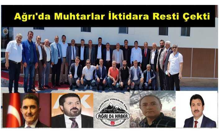 Ağrılı Muhtarlar Şikayet İçin Ankara'ya Gidecek