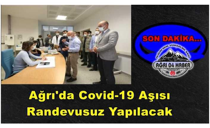 Covid-19 Aşısı İçin Randevu Şartı Kaldırıldı